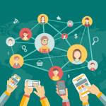 نمو إستخدام شبكات التواصل الاجتماعي