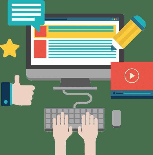 إدارة الموقع الإلكتروني